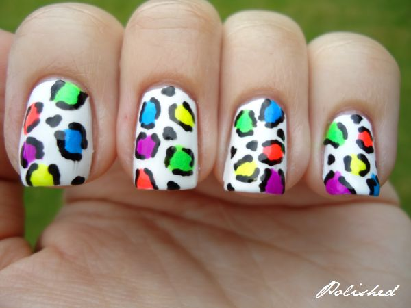 Polished: China Glaze Neon Leopard Mani