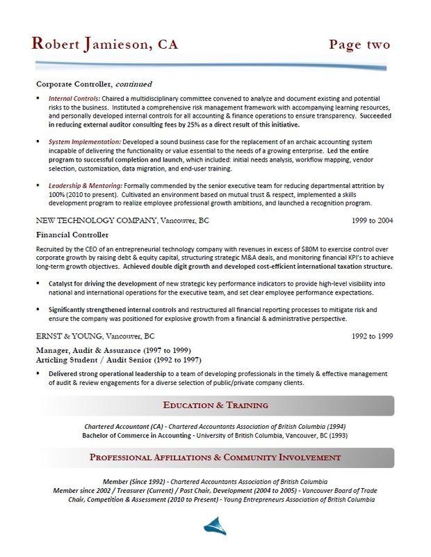resume samples - calgary resume services