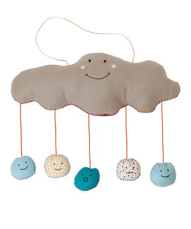 Another great find on #zulily! Blue Cloud Mobile by Nook-Nook #zulilyfinds