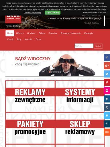 reklamy-arek.pl | SEO Analyzer