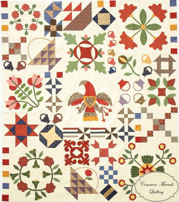 Eagle quilts.