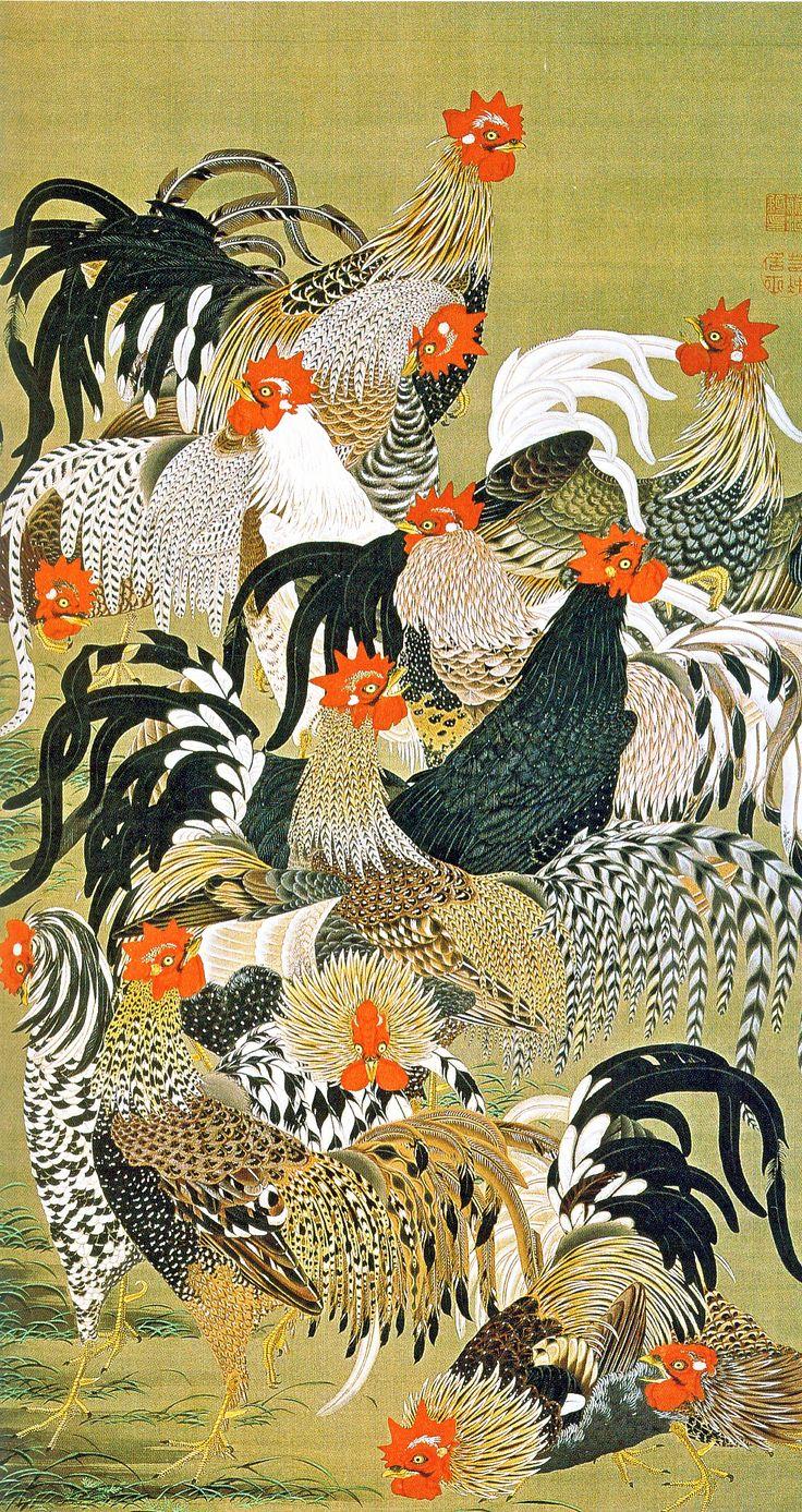 Jyakucyu Ito born in 1716 Edo period. The best...