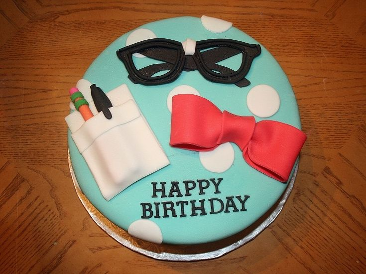 nerd party cake   For this nerd themed birthday cake i decided to make nerd glasses, a ...