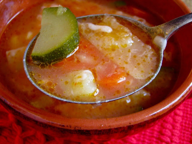 MEXICO: One of the QUICKEST and TASTIEST Soups you can ever make! Everyone who tries it asks for the recipe--honest!