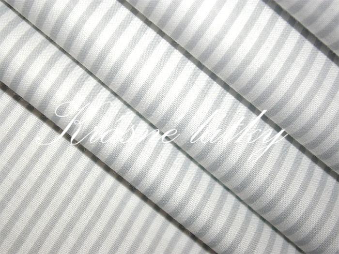 Proužek  šedý 100% bavlna 2mm š.160cm