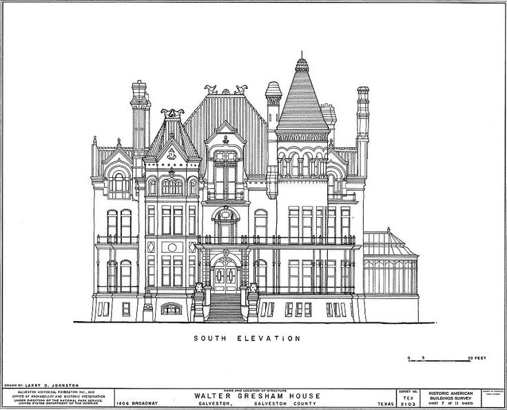 42 best walter josephine gresham home images on for Palace house plans