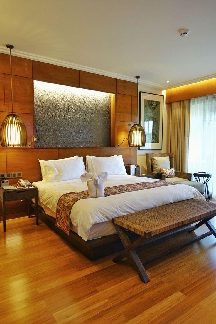 Bedroom at Padma Ubud, Bali. #MilesHumphreysArchitect
