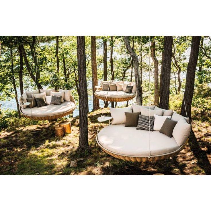 dedon swingrest hanging lounger hochwertige outdoor gartenm bel von dedon dedon pinterest. Black Bedroom Furniture Sets. Home Design Ideas