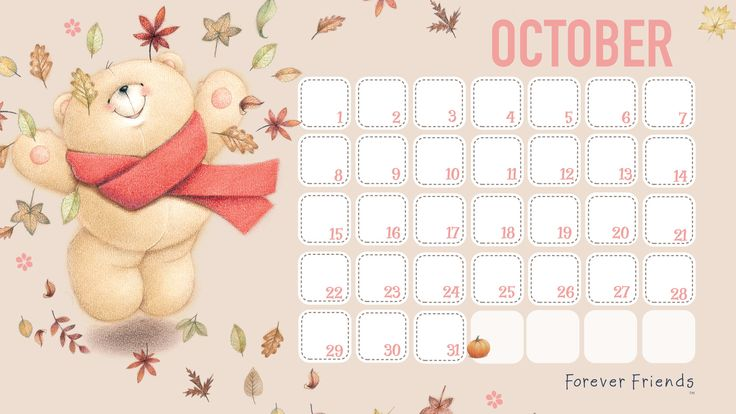 82 best calendarios images on pinterest free printable for Forever calendar template