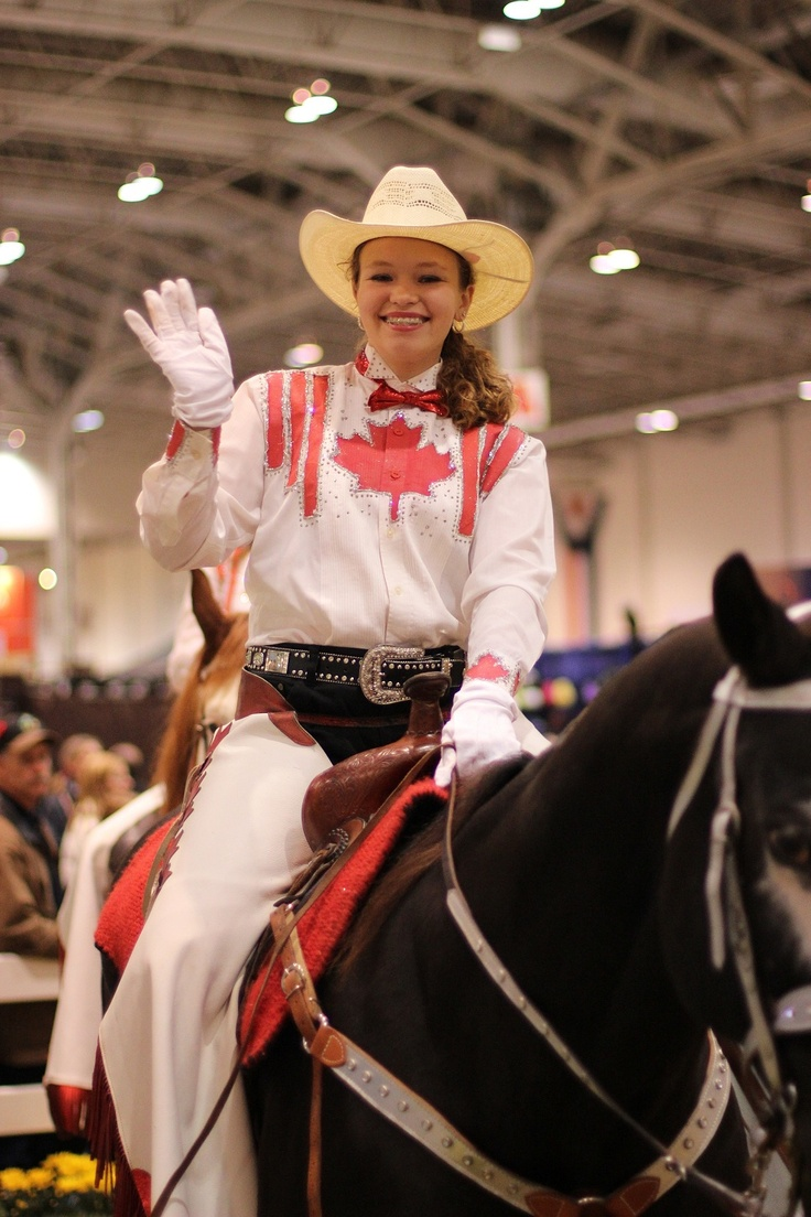 Canadian Cowgirls from Chatham-Kent, Ontario<< aha this is my friend natasha:)