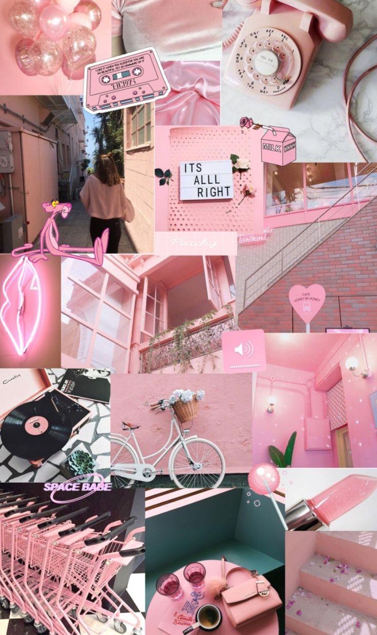 pastel pink wallpaper iphone wallpaper