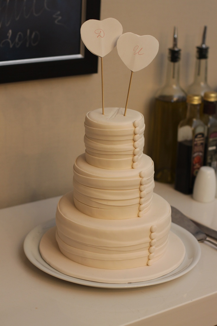 Wedding Cake For Small Family
