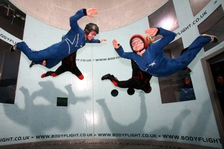Indoor Skydiving Taster for Two at Bodyflight £39