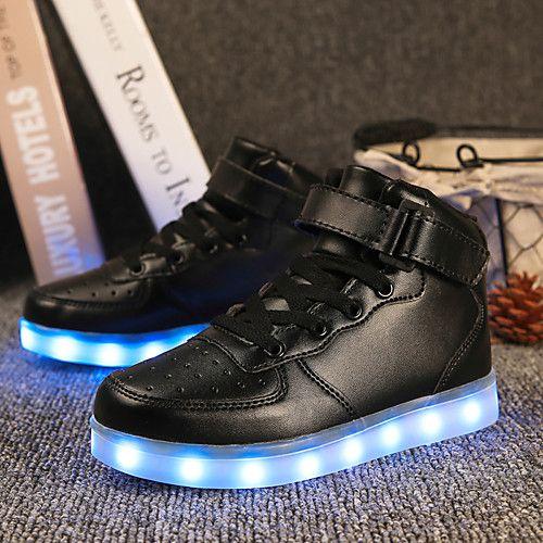 Goldene Led Schuhe
