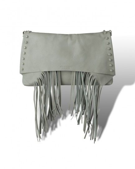 Clutch con frange Orciani