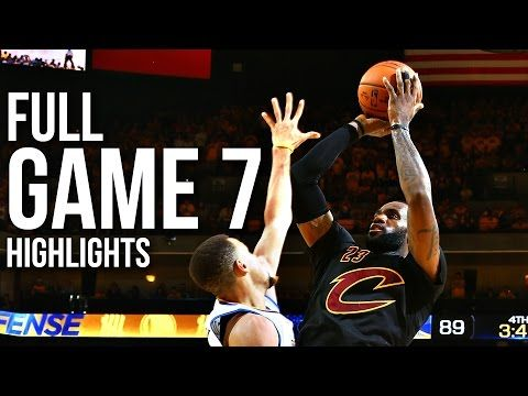 LeBron James Full Game 7 Highlights at Warriors 2016 Finals - 27 Pts, 11 Reb, 11 Ast, CHAMPION! - YouTube