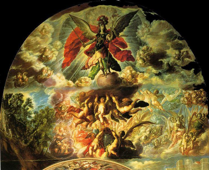 La aparición de San Miguel - Cristóbal de Villalpando.jpg