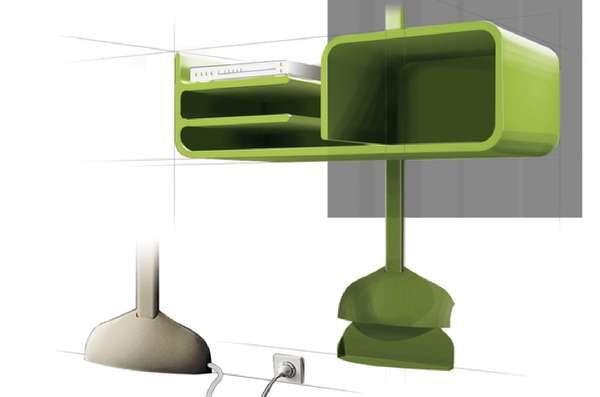 Cord-Concealing Entertainment Units - Arbre Numerique is Compact, Contemporary and Clutter-Reducing (GALLERY)