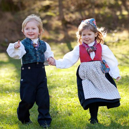 In Norway, it is common to wear bunad at various celebrations such as: folk dances, weddings, and especially the May 17 National Day celebrations.