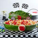 Watermelon carving ideas!! Love love love this!Summer Fruit, Fruit Salad, Fruit Bowls, Nascar Parties, Birthday Parties, Racing Cars Birthday, Nascar Racing, Watermelon Carvings, Birthday Cake