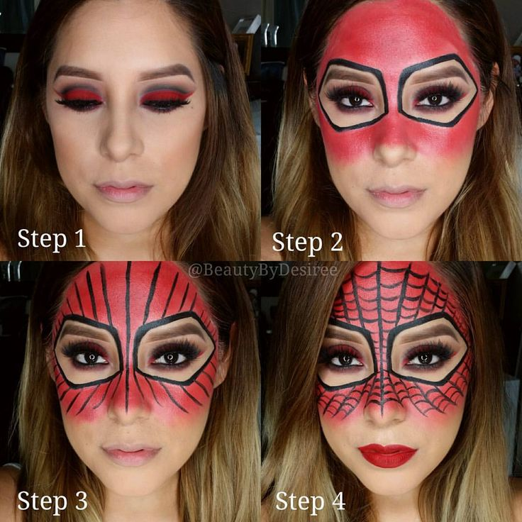 "1,991 curtidas, 223 comentários - Desirée Prieto-MUA  (@beautybydesiree) no Instagram: ""Pictorial on my Spider-Woman look... Brows: @anastasiabeverlyhills Dip Brow Pomade in Chocolate...…"""