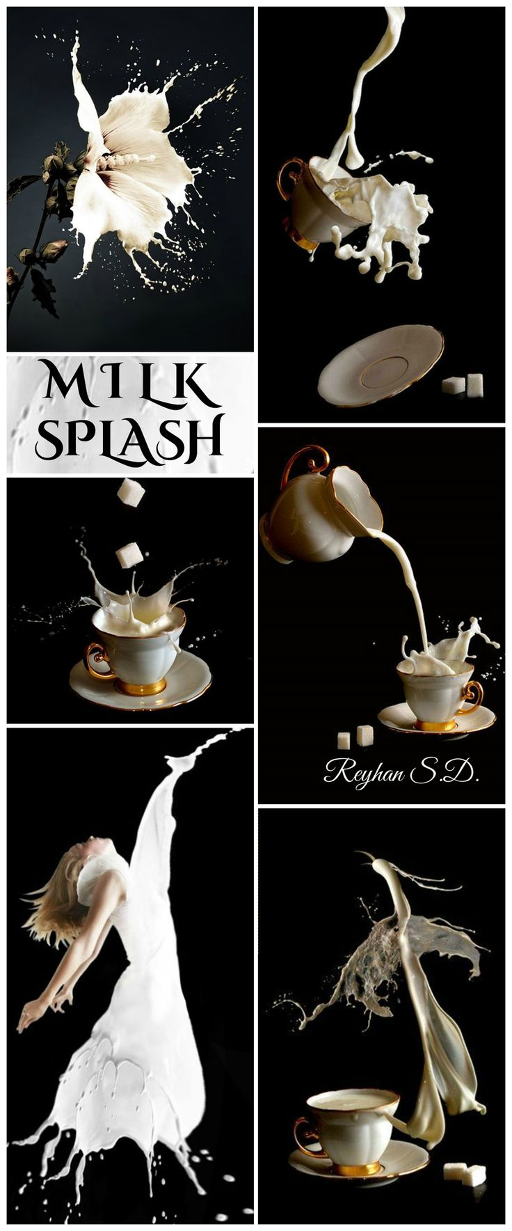 '' Milk Splash '' by Reyhan S.D.