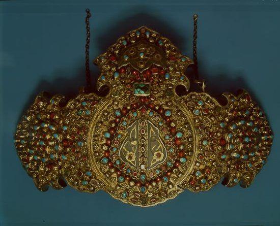 'Toka' (belt buckle).  Late-Ottoman,19th century.