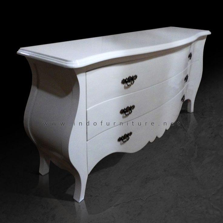 Sideboard   Bufet Laci   Indo Furniture