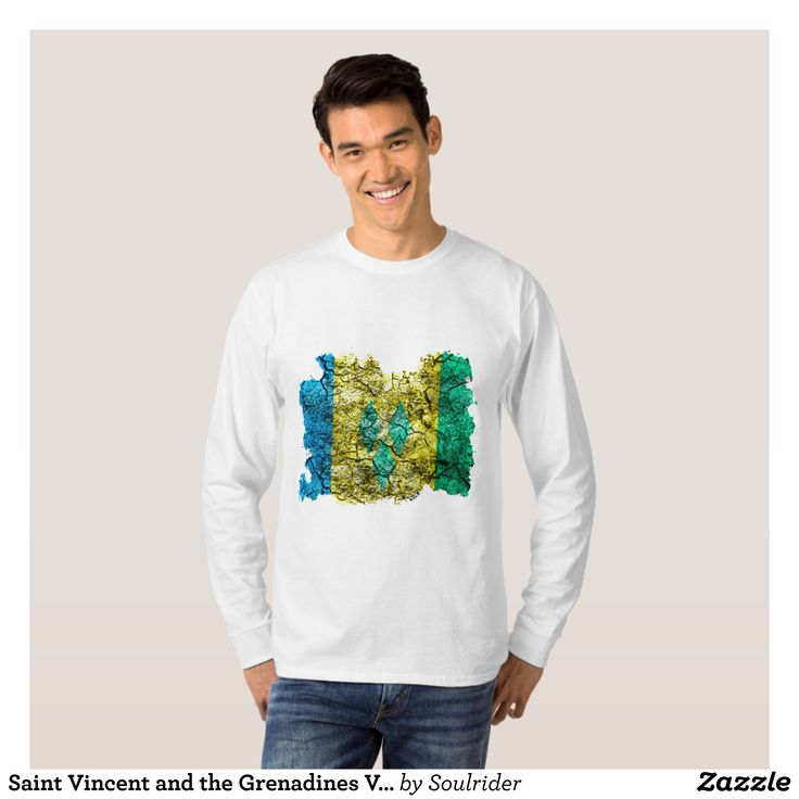 Saint Vincent and the Grenadines Vintage Flag T-Shirt - Heavyweight Pre-Shrunk Shirts By Talented Fashion & Graphic Designers - #sweatshirts #shirts #mensfashion #apparel #shopping #bargain #sale #outfit #stylish #cool #graphicdesign #trendy #fashion #design #fashiondesign #designer #fashiondesigner #style