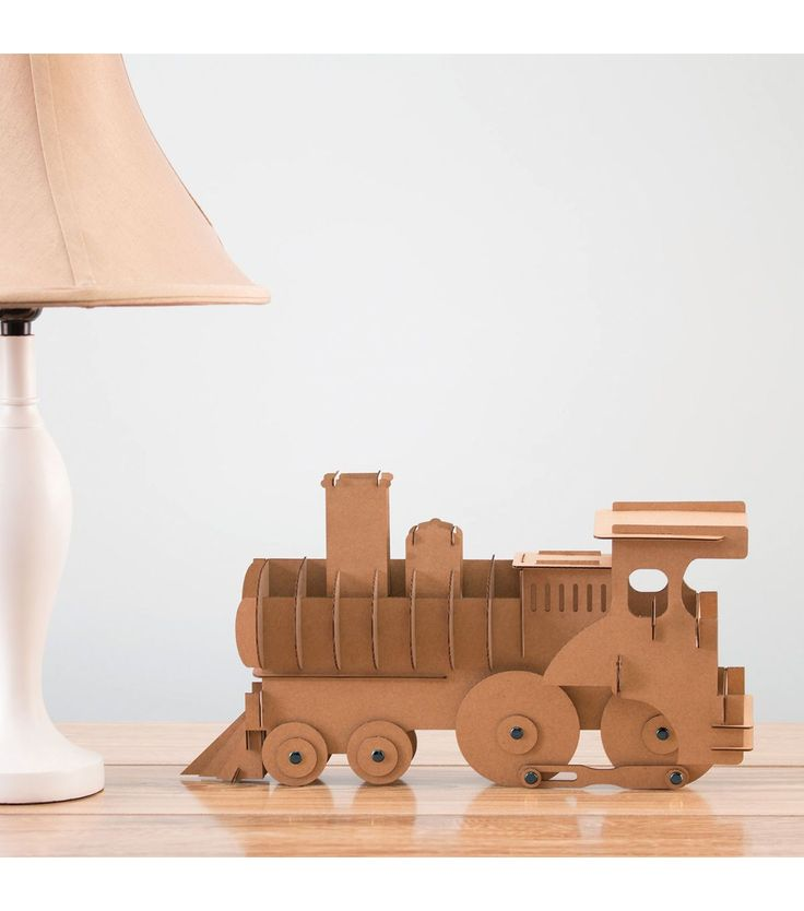 All aboard for some crafting fun. You can customize this train with paint. Make…