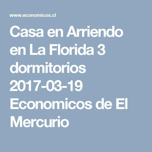 Casa en Arriendo en La Florida 3 dormitorios  2017-03-19 Economicos de El Mercurio