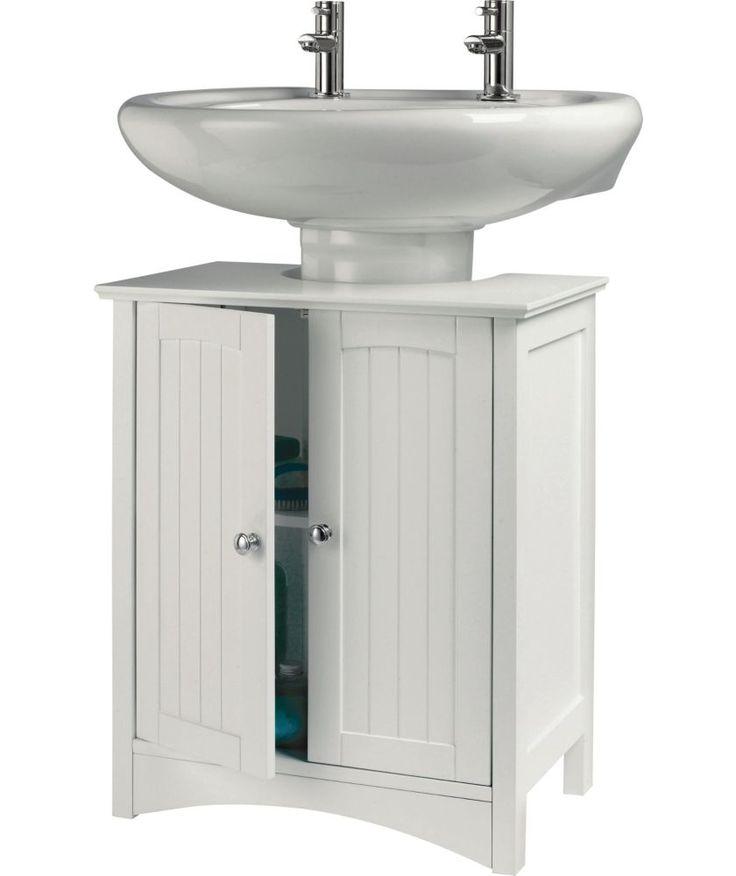 buy under sink storage unit white at your