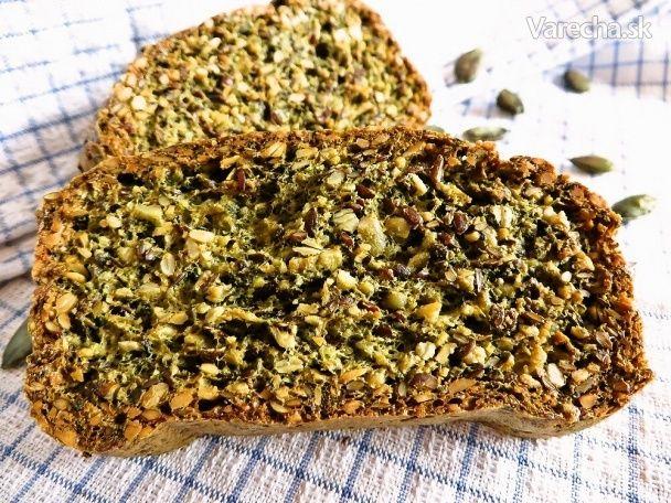 Semienkový chlieb bez múky (fotopostup)