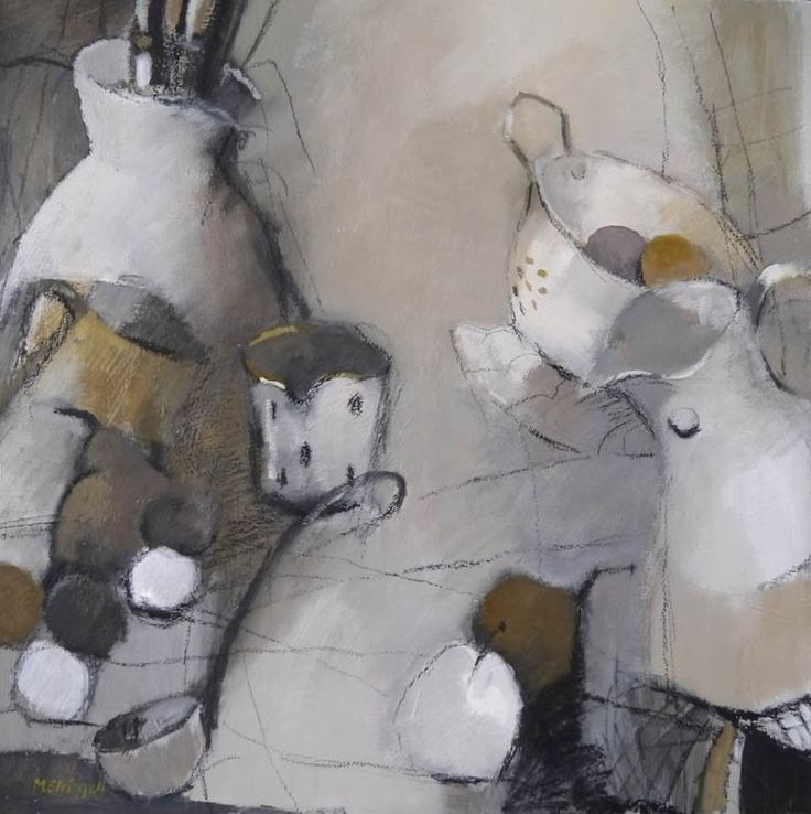 Kitchenalia by Meryl Stringell Copyright remains with the artist. Less, start your day with art, more lunchtime art!