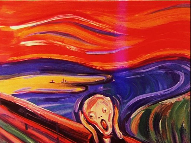 To express any emotion we must exaggerate.We track the history fo expressionism from cave art to 20th century. http://www.youtube.com/watch?v=5C3RaMffI-8&list=PL5F3B60F1E7863B45