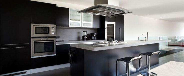 Cocinas modernas con isla central peque a buscar con - Cocina moderna pequena ...