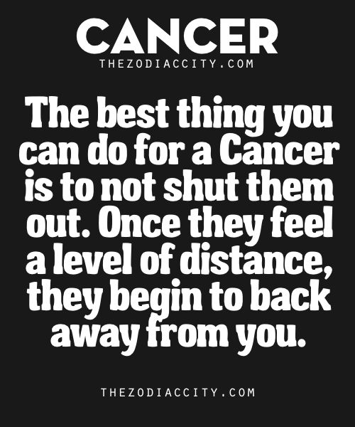 Best Thing You Can Do For Zodiac Cancer | TheZodiacCity