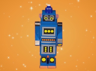 Make this Mini Robot to play with at home!