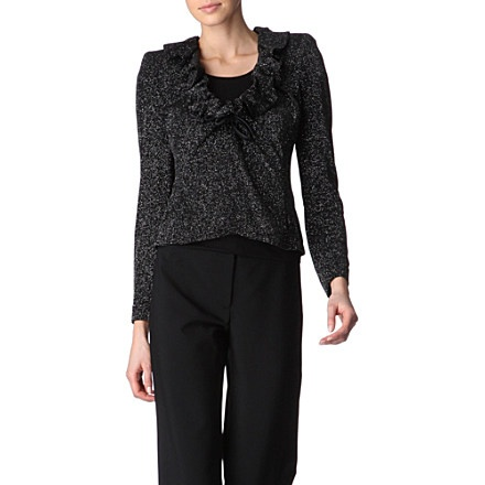 Ruffled sparkle shrug - ARMANI COLLEZIONIRuffles Sparkle, Armani Collections, Sparkle Shrugs