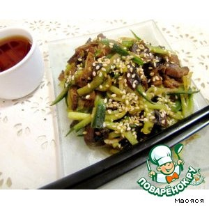 """Китайский салат """"По-домашнему"""""""