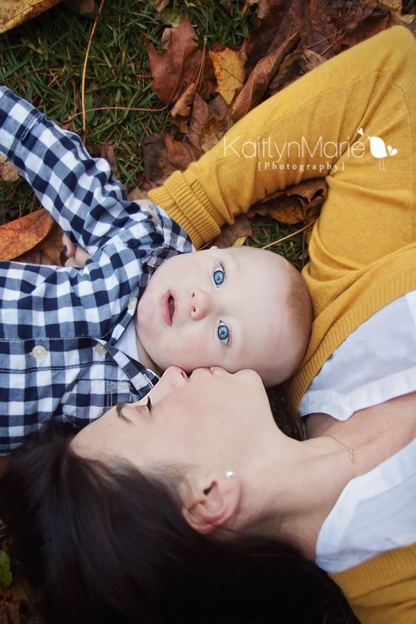 A favorite from a fall Photoshoot with 5 month old Anthony and his sweet mommy!