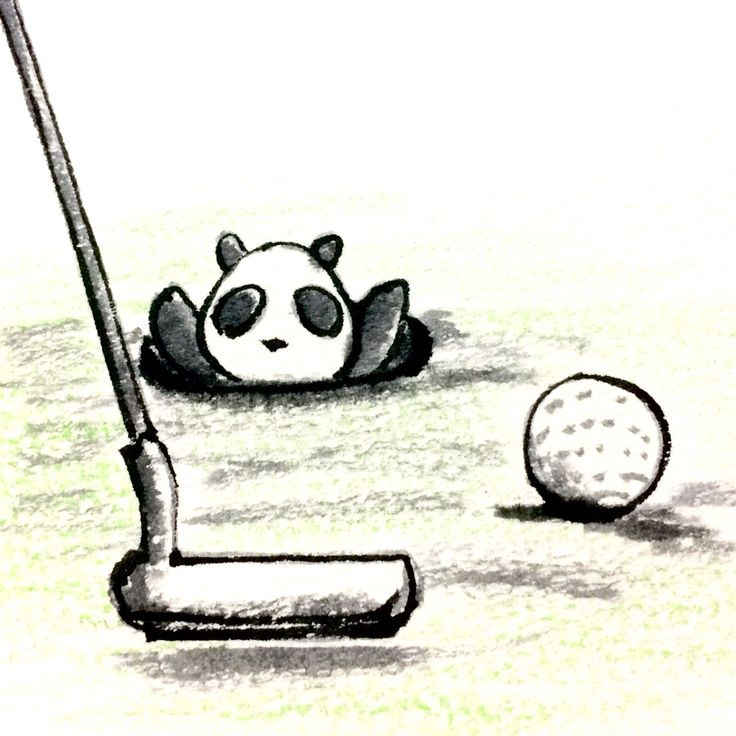 【一日一大熊猫】 2015.5.24 ゴルフ場記念日。 ゴルフはしないんだけど、ゴルフ場の雰囲気はイイよね。 行った事はないけど。。。 #ゴルフ #パンダ http://osaru-panda.jimdo.com