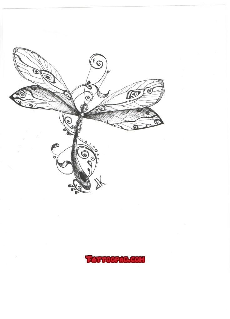dragonfly tattoo design, tattoo designs and dragon fly tattoos. #tattoo #tattoos #ink