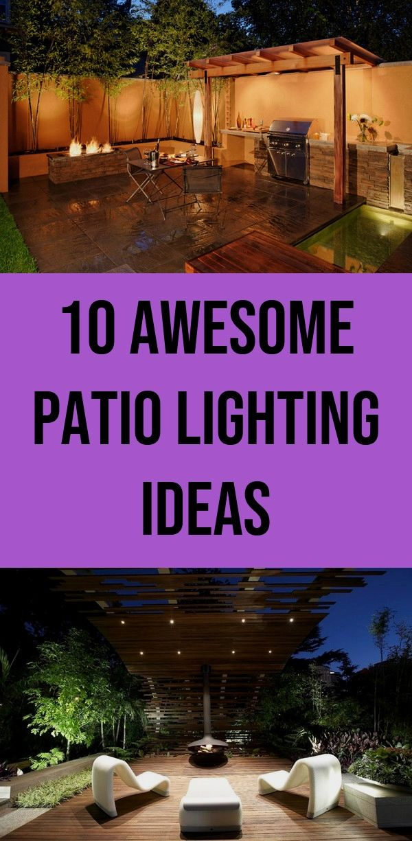 First patio lighting ideas Money 10 awesome patio lighting