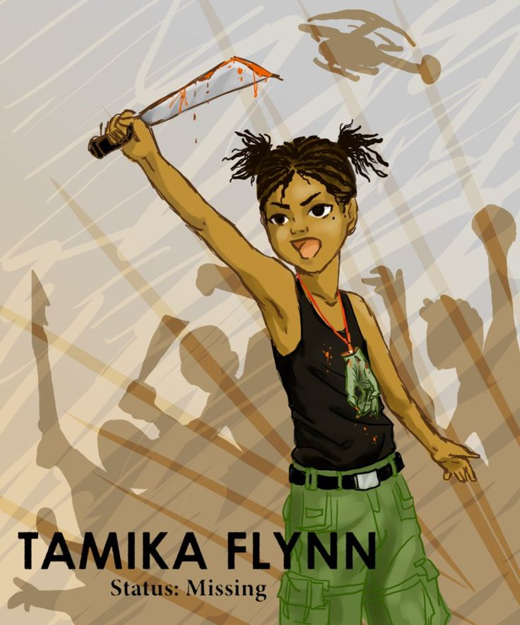 Tamika Flynn: Missing Child by MirthfulMalady on deviantART