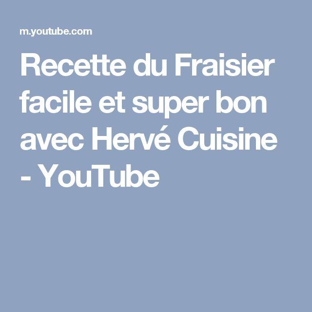 Recette du Fraisier facile et super bon avec Hervé Cuisine - YouTube