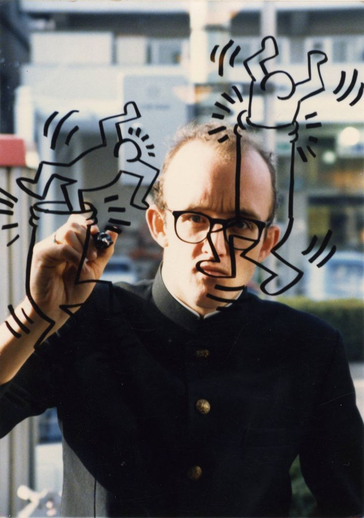 Keith Haring (photo: Keith Haring Foundation)