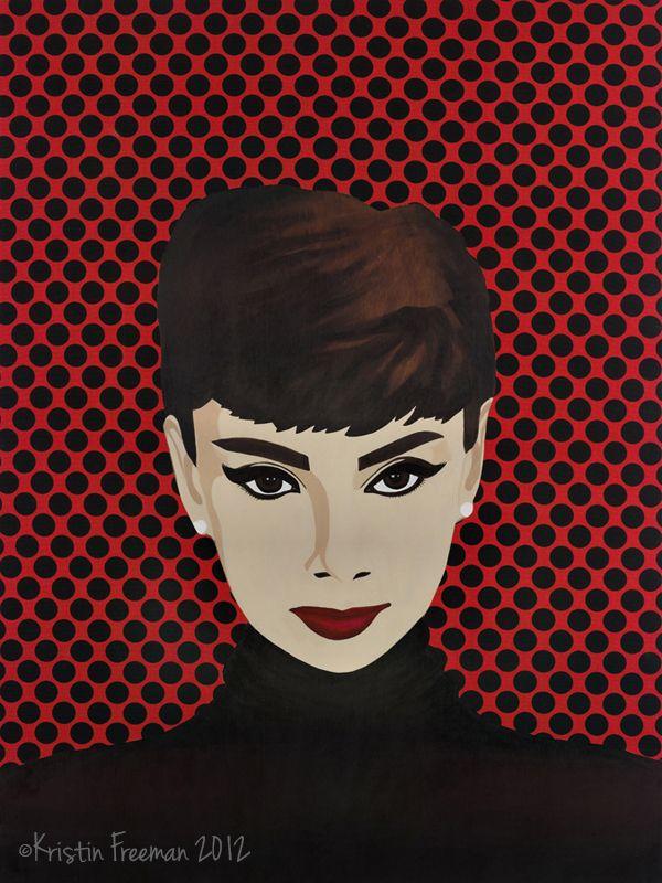 1000 images about audrey pop art on pinterest pop art - Cuadros audrey hepburn ...