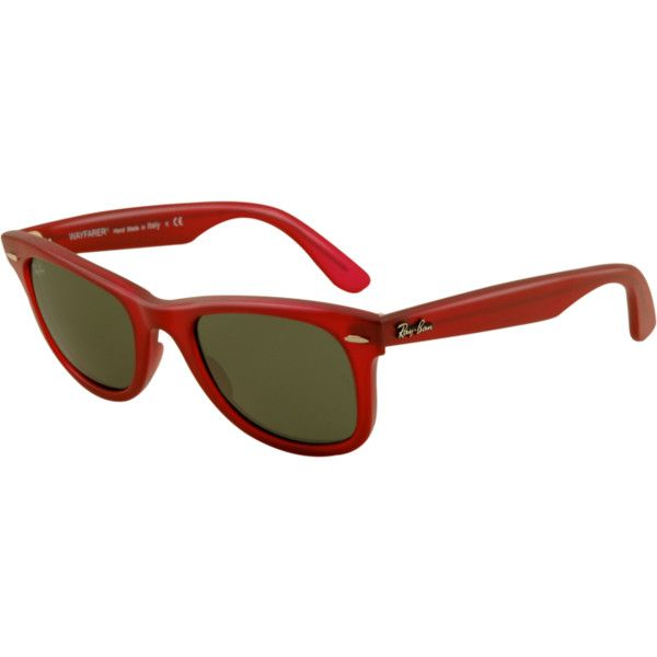 Ray-Ban RB2140 Original Wayfarer ® Sunglasses (965 HRK) ❤ liked on Polyvore featuring accessories, eyewear, sunglasses, ray-ban wayfarer, wayfarer style sunglasses, wayfarer style glasses, wayfarer sunglasses and ray ban sunglasses