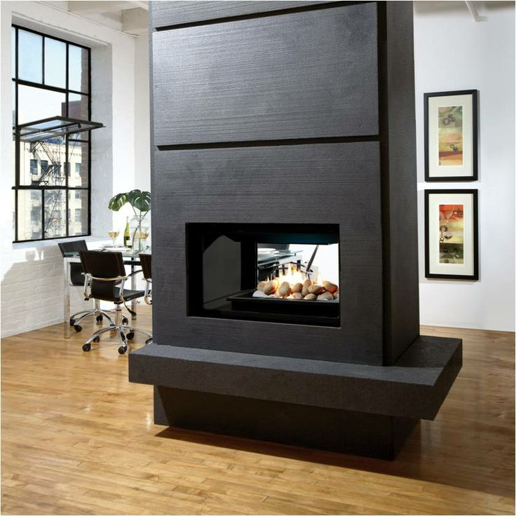 Gas Fireplace double sided gas fireplace insert : 83 best Fireplaces Ideas images on Pinterest